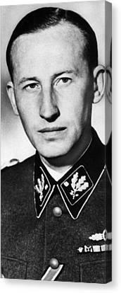 Reinhard Heydrich 1904-1942, High Canvas Print by Everett