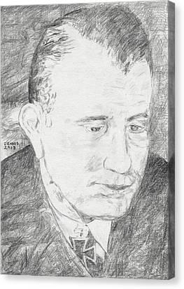 Reinhard Suhren Canvas Print by Dennis Larson