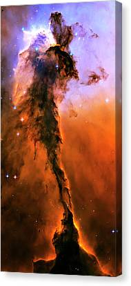 Release - Eagle Nebula 1 Canvas Print by The  Vault - Jennifer Rondinelli Reilly