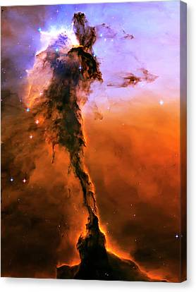 Release - Eagle Nebula 2 Canvas Print by The  Vault - Jennifer Rondinelli Reilly