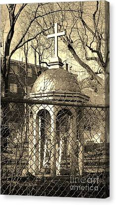 Religion Canvas Print by Reb Frost