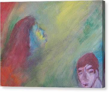 Religious Fanatic Canvas Print by Judith Redman