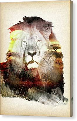 Remembering Cecil The Lion 2 - By Diana Van Canvas Print by Diana Van