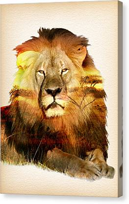 Remembering Cecil The Lion Canvas Print by Diana Van
