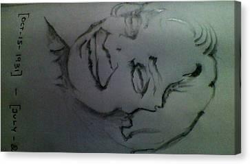 Remembrance Of Dr.a.p.j.abdul Kalam Canvas Print by P Yoga Nandhan