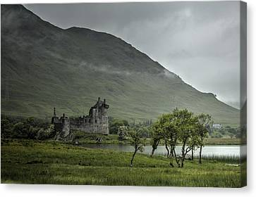 Remote Canvas Print by Chris Whittle