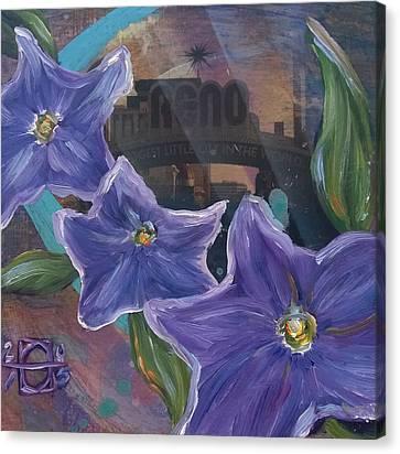 Reno Canvas Print by Andrea LaHue