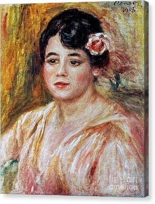 Renoir: Adele Besson, 1918 Canvas Print by Granger
