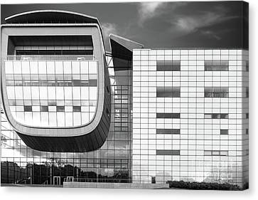 Rensselaer Polytechnic Institute Empac Canvas Print by University Icons