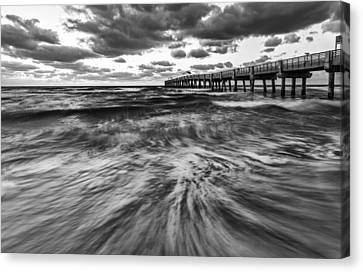 Repeated Morning II Canvas Print by Jon Glaser