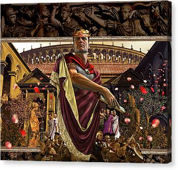 Republic Of Rome Canvas Print by Kurt Miller