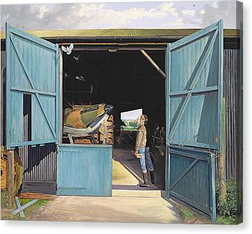 Restoration Canvas Print by Timothy Easton