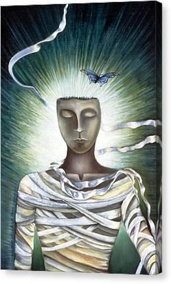 Resurrection Canvas Print by Gloria Cigolini-DePietro