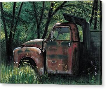 Retired Canvas Print by John Clum