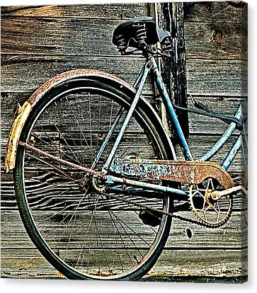 Retired Ride Canvas Print by Marion McCristall