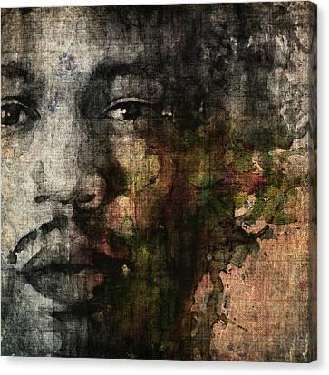 Retro Hendrix @ No6 Canvas Print by Paul Lovering