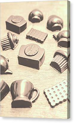 Retro Tea Party Canvas Print by Jorgo Photography - Wall Art Gallery