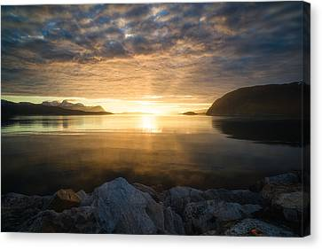 Return Of The Sun Canvas Print by Tor-Ivar Naess