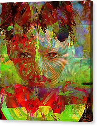 Returned At The Door Of No Return Canvas Print by Fania Simon