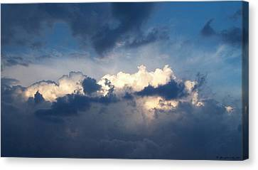 Revelation One-seven Canvas Print by Glenn McCarthy Art and Photography
