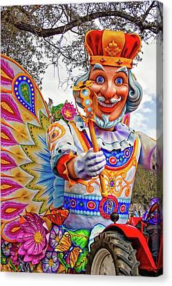 Rex Rides In New Orleans Canvas Print by Steve Harrington