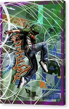Rhythm Canvas Print by Nicole Street