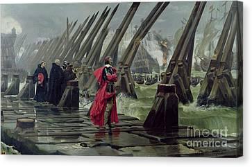 Richelieu Canvas Print by Henri-Paul Motte