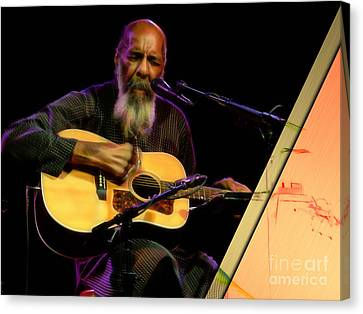 Richie Havens Collection Canvas Print by Marvin Blaine