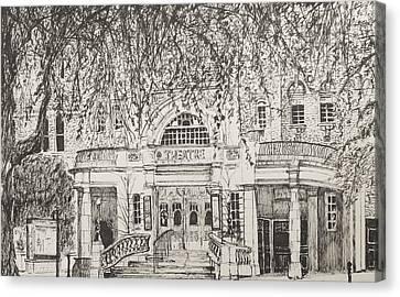 Richmond Theatre London Canvas Print by Vincent Alexander Booth