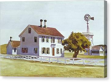 Rich's House Canvas Print by Edward Hopper