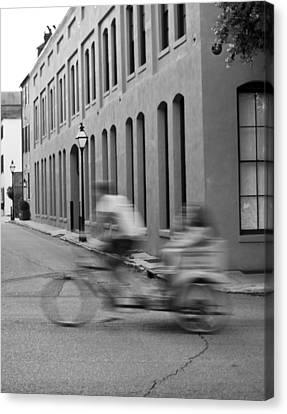 Rickshaw Speed Canvas Print by Dustin K Ryan