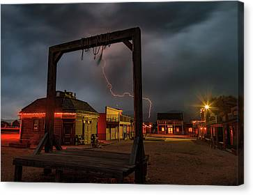 Ride The Lightning. Canvas Print by Johnny Adolphson