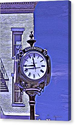 Ridgewood Time Canvas Print by Dimitri Meimaris