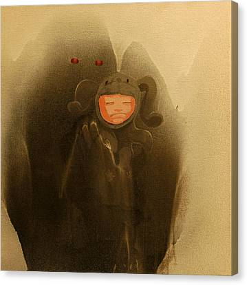 Riding Giants Canvas Print by Konrad Geel