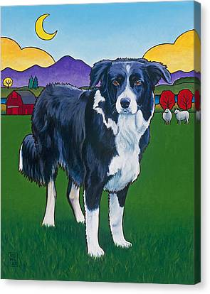 Riley Canvas Print by Stacey Neumiller