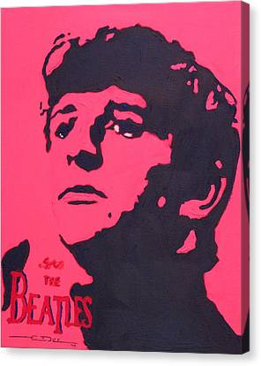Ringo Canvas Print by Eric Dee