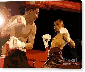 Ringside Canvas Print by David Lee Thompson