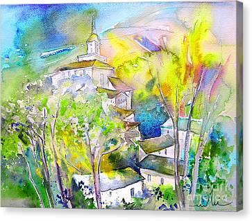 Rioja Spain 04 Canvas Print by Miki De Goodaboom
