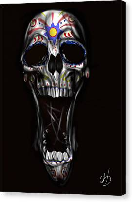 R.i.p Canvas Print by Pete Tapang
