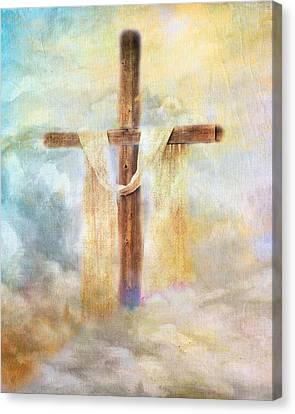 Risen Canvas Print by Jai Johnson