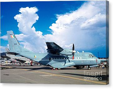 Irish Air Corps, Casa Cn-235-100m, Twin-engine Tactical Airlifter Canvas Print by Wernher Krutein
