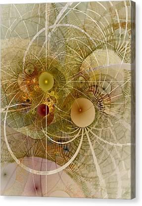 Rising Spring - Fractal Art Canvas Print by NirvanaBlues