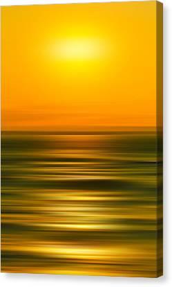 Rising Sun Canvas Print by Az Jackson