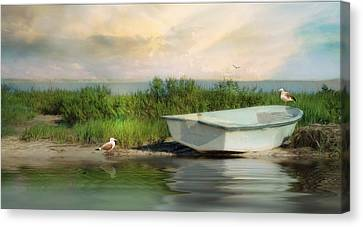 Rising Tide Canvas Print by Robin-lee Vieira