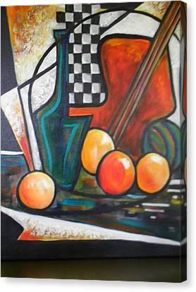 Ristorante De Madrid Canvas Print by Jane Toliver