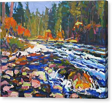 River Canvas Print by Brian Simons