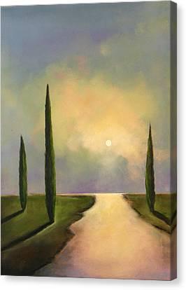 River Dreams Canvas Print by Toni Grote