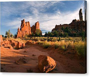 River Of Sand Canvas Print by Mike  Dawson