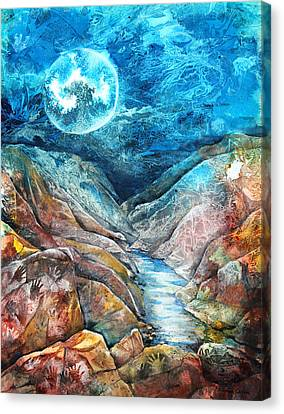 River Of Souls Canvas Print by Patricia Allingham Carlson