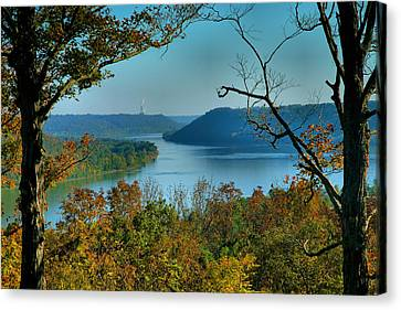 River View I Canvas Print by Steven Ainsworth